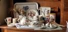 英國Portmeirion-Botanic Garden 經典植物園系列-閨蜜下午茶組(四杯一壺一盤)