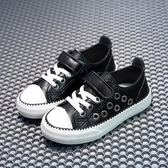 回力童鞋男童板鞋春季新款女童正韓寶寶運動PU兒童帆布白鞋子【聖誕節超低價狂促】