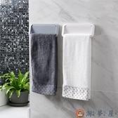 毛巾架浴室毛巾桿廚房衛生間單桿毛巾掛架浴巾架【淘夢屋】
