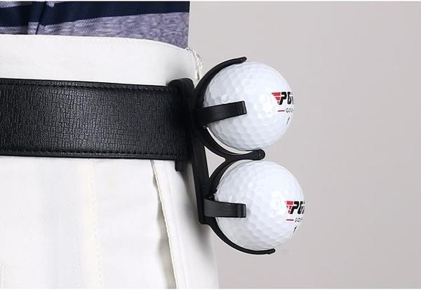 高爾夫球夾 可裝兩粒球