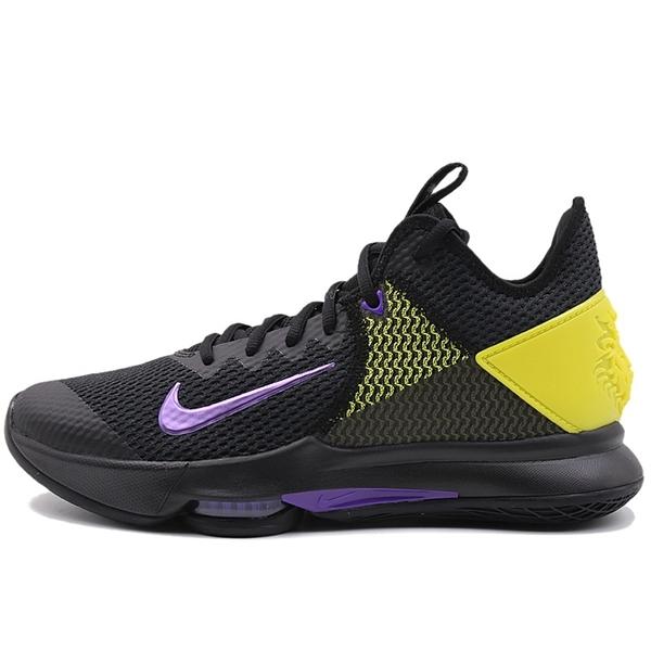 NIKE系列-男款黑黃LeBron Witness 4 EP 籃球鞋-NO.CD0188004