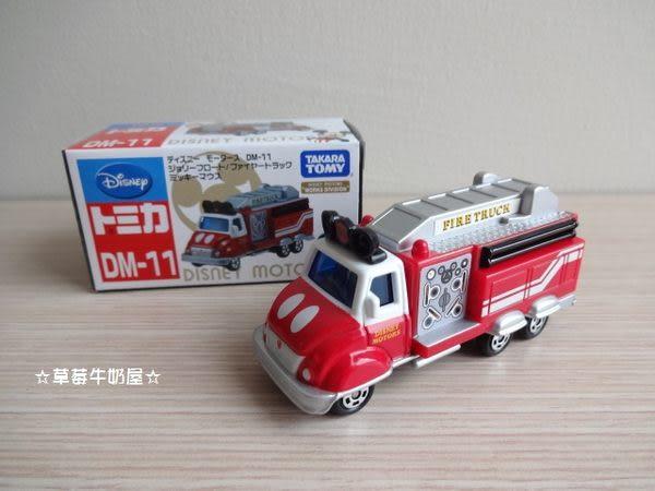 ☆草莓牛奶屋☆日本進口DISNEY【TOMICA小汽車】DM-11米奇
