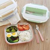 【雙12】全館低至6折韓國304不銹鋼分格保溫飯盒兒童小學生帶蓋餐盒便攜成人便當餐盤