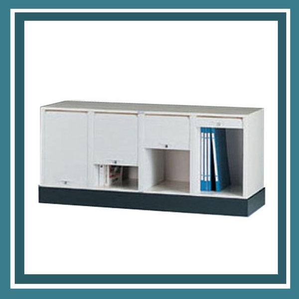 【必購網OA辦公傢俱】CP-6404+CP-04 四排一層+腳座 公文櫃 資料櫃 效率櫃