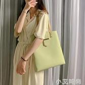 夏季大容量單肩包包女2020新款潮韓版百搭手提包時尚簡約托特大包【小艾新品】