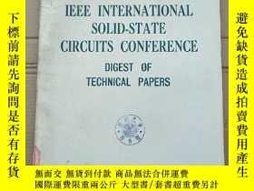 二手書博民逛書店1975罕見IEEE international solid-state circuits conference