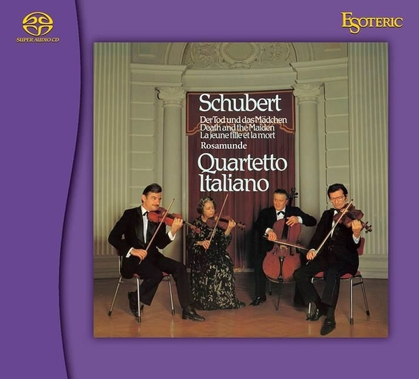 【停看聽音響唱片】【SACD】舒伯特 String Quartets Nos. 13 & 14 弦樂四重奏 Nos.13 & 14