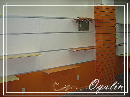 【歐雅系統家具】系統家具 系統收納櫃 壁板衣架 商品展示櫃