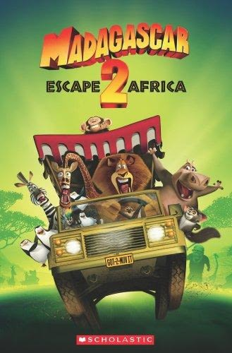 POPCORN READERS :   MADAGASCAR:ESCAPE TO AFRICA   L2 /書+CD