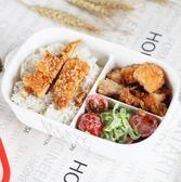 微波爐專用成人餐盒帶蓋分格陶瓷飯盒密封長方形保鮮盒分隔便當盒【快速出貨】