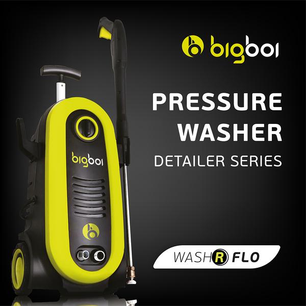 【bigboi】washR FLO 高壓沖洗機 (三年保固 清洗機 清潔機 汽車美容 洗車 洗地板)