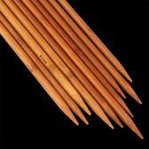 36cm竹毛衣針 碳化竹針 粗毛線木直針編織圍巾帽子工具套裝竹棒針