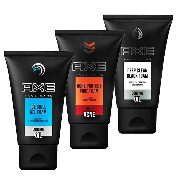 AXE 戰斧 男性洗面乳 100g 款式可選 男士洗面乳-深層清潔【小紅帽美妝】