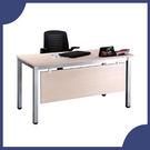 【必購網OA辦公傢俱】 TSA-140 白橡木 烤銀方形4E 辦公桌