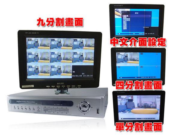 速霸超級商城㊣CAMVID 8路遠端監控DVR數位監控錄影機(TON708SV)◎監視器材