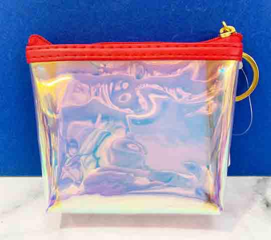 【震撼精品百貨】Hello Kitty 凱蒂貓~三麗鷗日本零錢包鎖圈-紅*06703