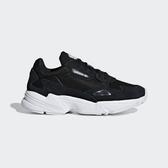 Adidas Falcon W [B28129] 女鞋 運動 休閒 老爹 經典 復古 潮流 黑 白 愛迪達