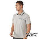 PolarStar 男 Coolmax抗菌POLO衫『淺卡其』P21119 排汗衣 排汗衫 吸濕快乾 .吸濕.排汗.透氣.快乾