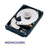 TOSHIBA 企業用級內裝硬碟 【MG04ACA100N】 1TB 3.5吋 SATA 3 7200轉 新風尚潮流