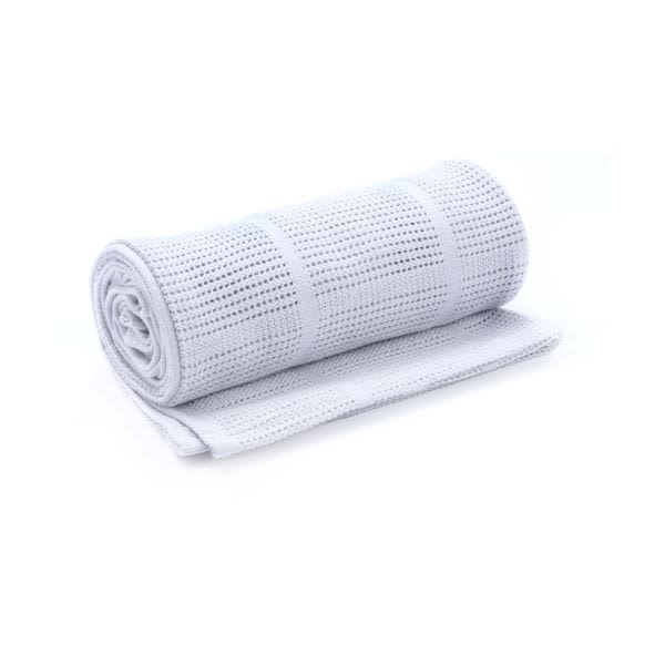 mothercare-洞洞毯-小棉毯-粉紅、粉藍、淺米、白色、灰色