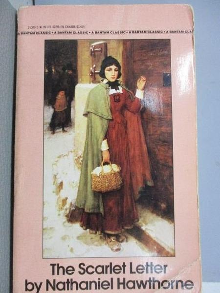 【書寶二手書T8/原文小說_CUU】The Scarlet Letter_Nathaniel Hawthorne