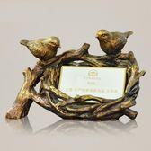 名片盒男式創意高檔架座大容量樹脂特色工藝品送客戶女桌面擺件 盯目家