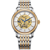 RHYTHM日本麗聲 Dynasty鏤空機械錶-金框/43mm A1510S02