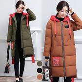 【韓國K.W.】(預購) 最亮眼的防潑水防風收口羽絨外套!
