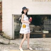 洋裝新款夏法式桔梗裙女夏設計感小眾裙子仙女超仙森系甜美 青木鋪子