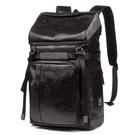 後背包仿皮-黑-簡約大量 男包 情人節生日禮物【ARSIM愛型包包】