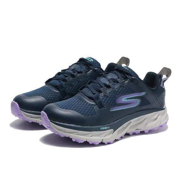 SKECHERS 休閒鞋 GO TRAIL ULTRA 4 深藍 防潑水 機能 越野鞋 女 (布魯克林) 172030NVLV