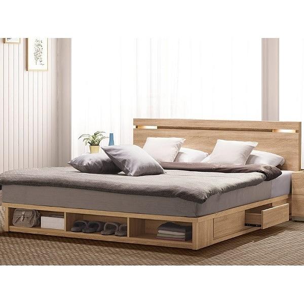 床架 QW-048-3B 多莉絲6尺雙人床 (床頭+床底)(不含床墊) 【大眾家居舘】