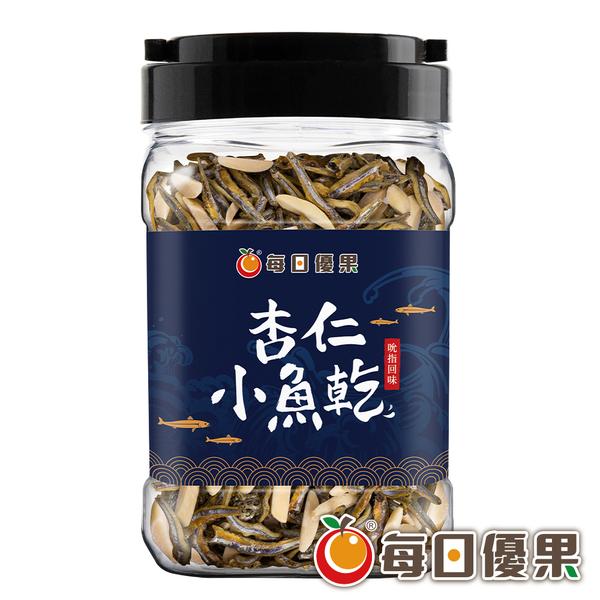 罐裝杏仁小魚乾250G 每日優果
