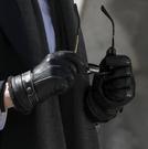 保暖手套 觸屏男士手季皮手套男加絨加厚保暖防風防水騎摩托車騎行手套【快速出貨八折下殺】