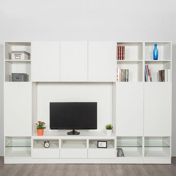 【Arkhouse】伯利恆系列-客廳中量級收納電視高櫃 W300*H218*D50