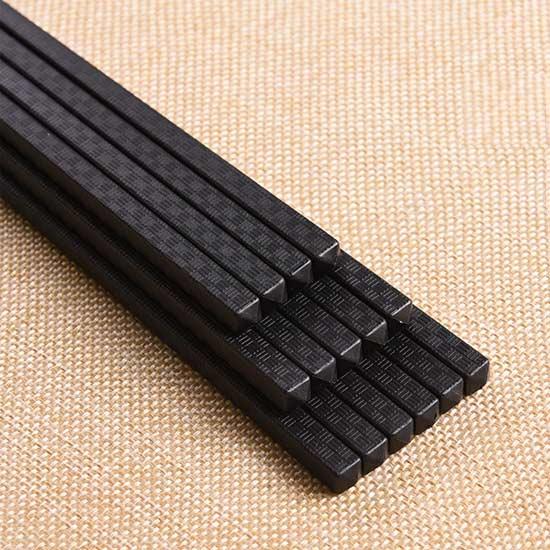 筷子 合金筷 環保筷 (10雙) 尖頭筷 鍍金筷 不生銹 餐具 抗菌筷 耐熱筷 禪風【J044】生活家精品