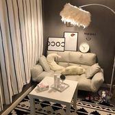 雙人沙發 懶人沙發雙人臥室床邊小沙發網紅款沙發小戶型房間休閒懶人沙發床 7色T