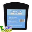 [106美國直購] 3 Crucial Air Replacement Carbon Filters for Hamilton Beach True Air Odors 04530GM 04532GM