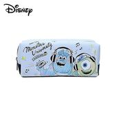 【日本正版】怪獸大學 皮革 筆袋 鉛筆盒 化妝包 收納包 毛怪 大眼仔 皮克斯 迪士尼 Disney - 845486