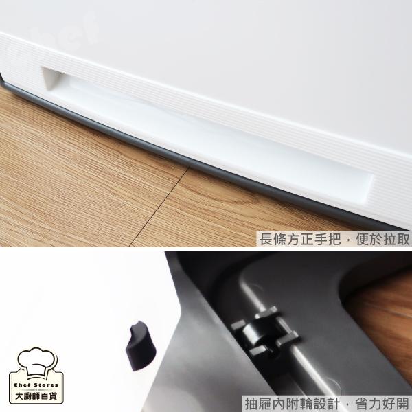 聯府加高抽屜整理箱65L大容量抽屜櫃收納櫃置物櫃層櫃AM-65-大廚師百貨