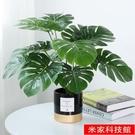 桌面盆栽 北歐ins仿真植物裝飾花風小擺件客廳桌面盆栽家居室內假綠植盆景 米家WJ