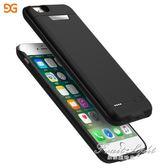 行動電源 iphone6/7行動電源蘋果6splus移動電源無線手機背夾電池沖殼 果果輕時尚