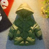 男童羽絨服 兒童冬裝男童羽絨棉服洋氣棉襖童裝男寶寶加厚外套冬 卡卡西