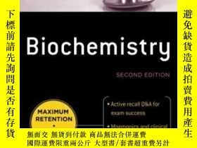 二手書博民逛書店Deja罕見Review Biochemistry Second