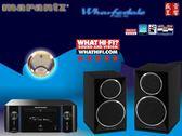 盛昱音響/日本 Marantz  M-CR611 網路CD收音擴大機+ DIAMOND 220 書架喇叭 有現貨可自取