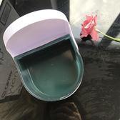 牙套盒震動清洗超聲波清洗盒 透明隱形牙套保持器牙套浸泡盒
