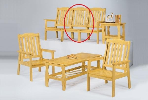 HY-614-5  本色單面實木單面無扶手椅-單張