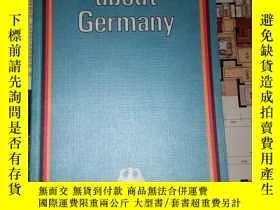 二手書博民逛書店Facts罕見about Germany(德國概況藍皮)Y182