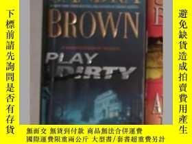 二手書博民逛書店《罕見Play Dirty 》Sandra Brown 著 英文