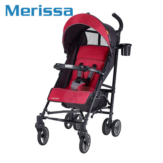 【愛吾兒】Merissa美瑞莎 EB18 行動休旅Buggy嬰兒手推車-幸運紅